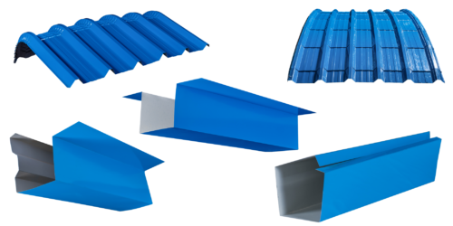Roofing sheet and accessories